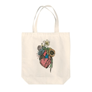 The bloom of youth Tote bags