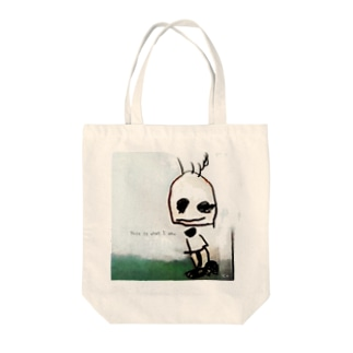 This is that I am. ありのままに生きる。 Tote bags