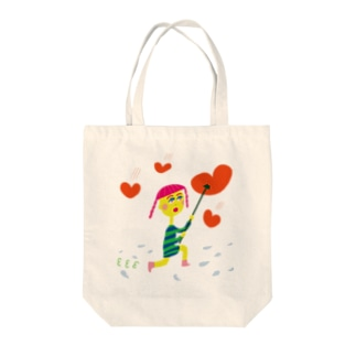Heart Shapes Tote bags