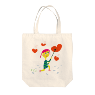 chihirohohiのHeart Shapes Tote bags