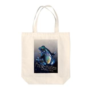 アマノカワズ背景付き Tote bags