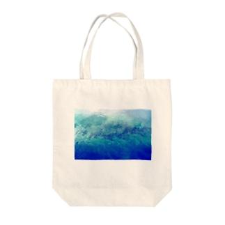 流離い Tote bags