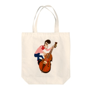 Bass  man! Tote bags