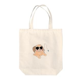 ブルフィッシュ Tote bags