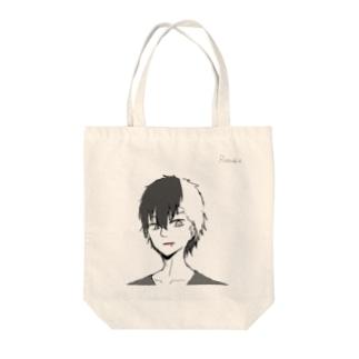 食人鬼 Tote bags