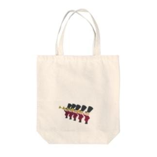 兵隊さん2 Tote bags