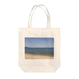 みずうみの記録 Tote bags