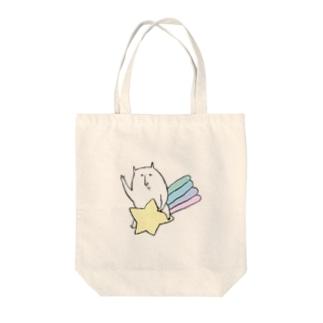 やさぐれねこ(星) Tote bags