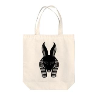 らくがきシリーズ-アヌビス神 Tote bags
