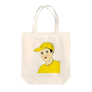 つうこうにん Tote bags