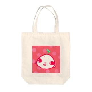 ピンクなさいとうさん Tote bags