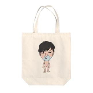 おやぶん Tote bags
