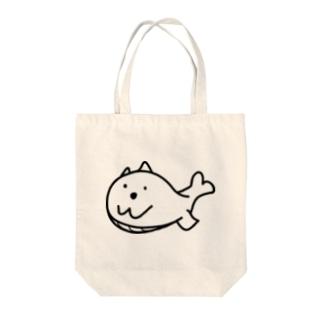 まつものクジラマツモ Tote bags