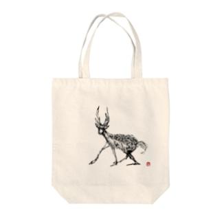 deer Tote bags