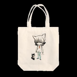 ShikaNiwa.Sandy.Jido.S.Alice.Ori.S.のgood morning Tote bags