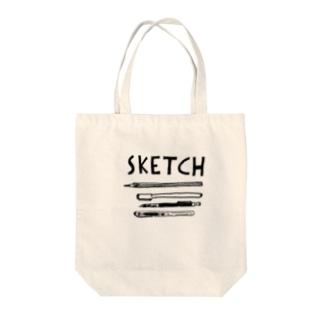 sketch トートバッグ