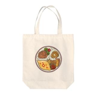 お子様ランチ Tote bags