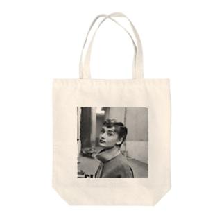 オードリー Tote bags