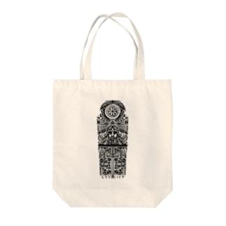 タトゥー風守り神 Tote Bag