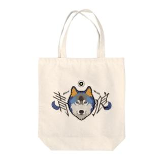 青狼 Tote bags
