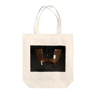 アトリエの白いやつ Tote bags