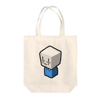 ハコニンゲン Tote bags