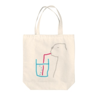 フランスクマ・バブル Tote bags