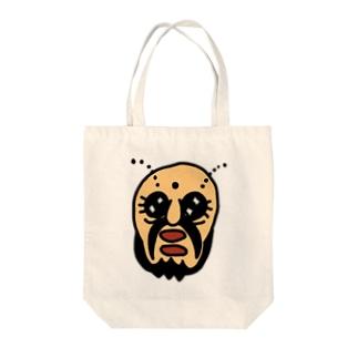 むしのおじさん Tote bags