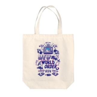 Mew WorldOrder Tote bags