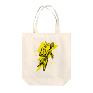 Faster and Louder Tote bags