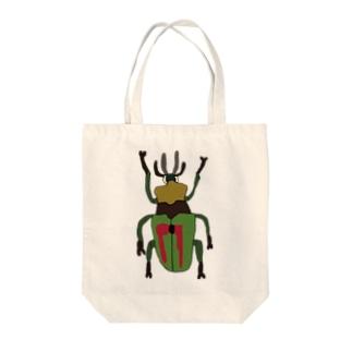 ニジイロクワガタ Tote bags