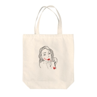 love and hate Tote bags