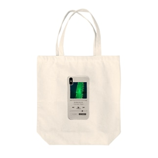 iPhone埋め込んじゃいました Tote bags