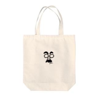 やぁおじさん Tote bags