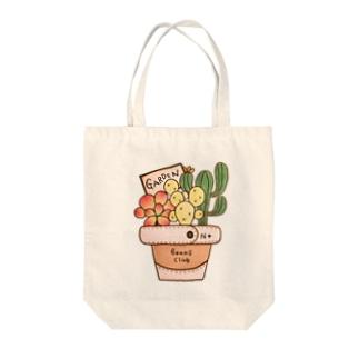 タニサボ鉢のトートバック Tote bags