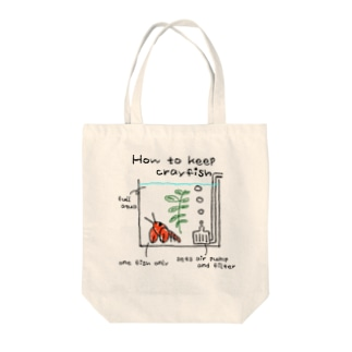 How to keep crayfish Tote bags