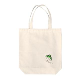 ポンプくん Tote bags