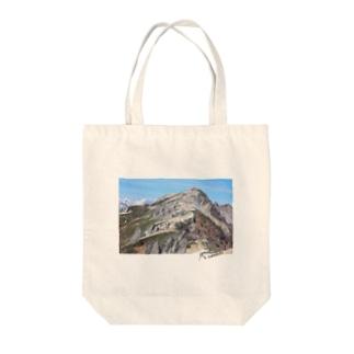 燕岳 Tote bags