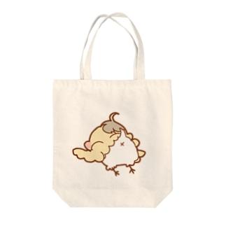 ひよこのひよぴよちゃん Tote bags