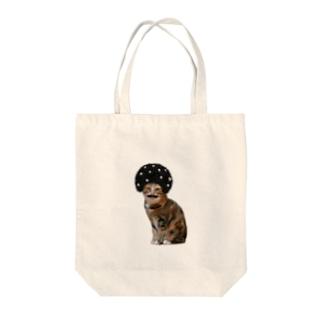 あふろにゃんこ Tote bags