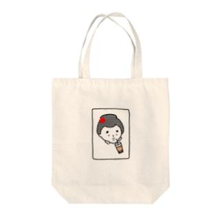 はんなりがーる。(タピ) Tote bags