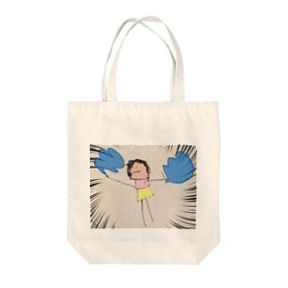 ぽんぽんさん Tote bags