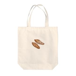 グラハムナッツ Tote bags