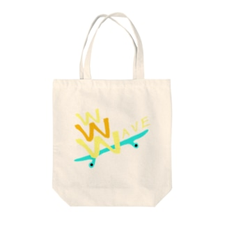 WAVE Tote bags