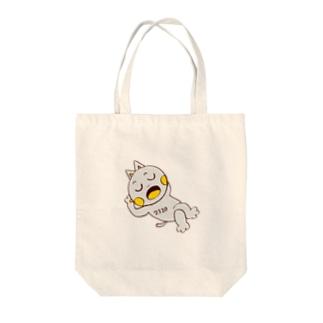 ダサめのねむネコ Tote bags