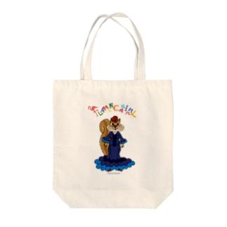 FLAMENCANIMAL(フラメンカニマル)リス Tote bags