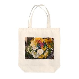 田中て人。の送別会の花 Tote bags