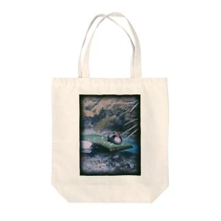 水鳥 Tote bags