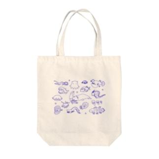 ゆるゆる深海魚 Tote bags