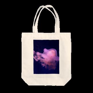博物雑貨 金烏のクラゲ Tote bags